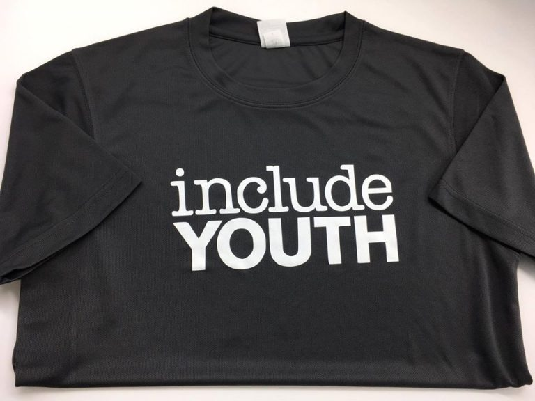 Include Youth Printed Marathon T-Shirts