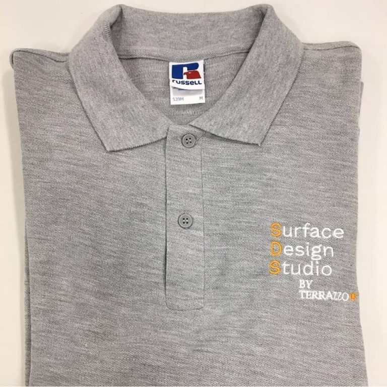 Lough Neagh Group Polo Shirts: Embroidered with personalised logo