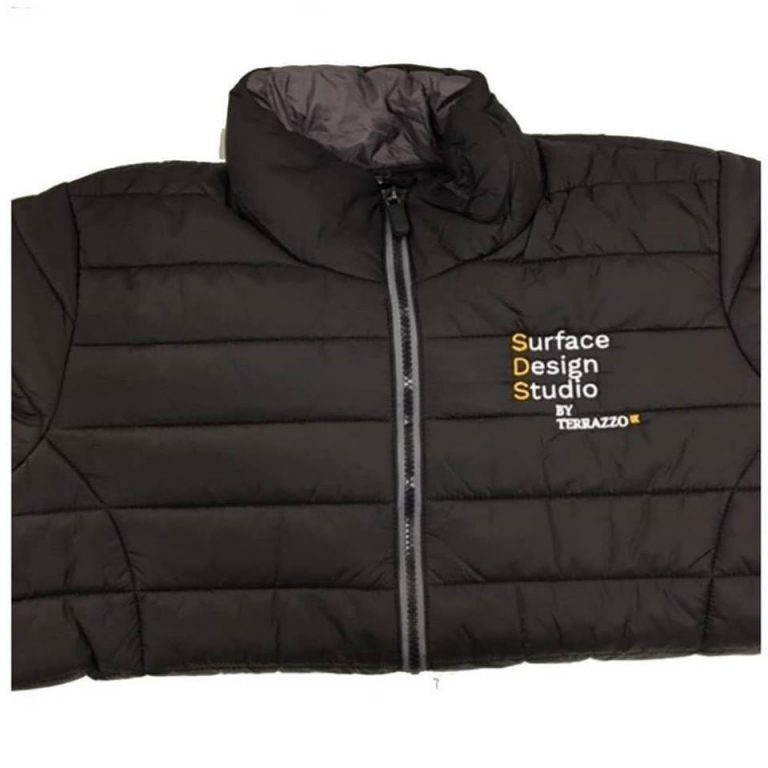 Lough Neagh Group Padded Jacket's: Embroidered with personalised logo